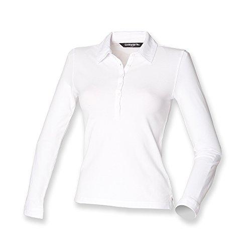 Skinni Fit - Polo - para mujer blanco