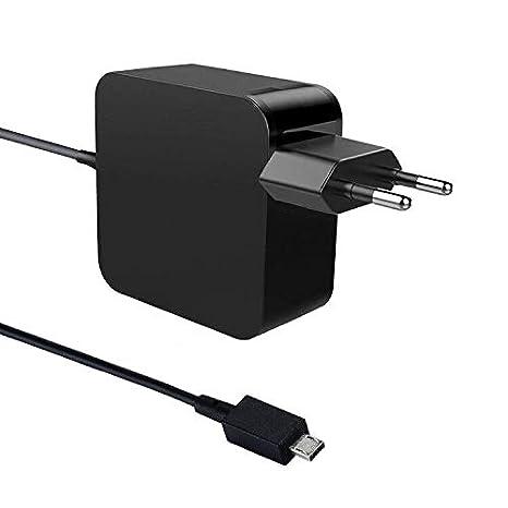 45W Notebook Laptop Adaptador de cargador de CA Cable de alimentación par Asus UX305 UX305FA UX305UA UX305CA UX305L UX410 UX410U UX410UA UX360UA ...