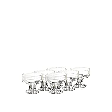 SOHO DESSERT GLASS DISHES SET 6