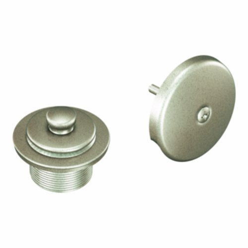 - Moen T90331AN Tub Drain Kit with Push-N-Lock Drain Assembly, Antique Nickel