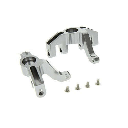 GPM Racing Alloy Front Knuckle for 1:10 HPI XS Flux + Other HPI Models, Grey