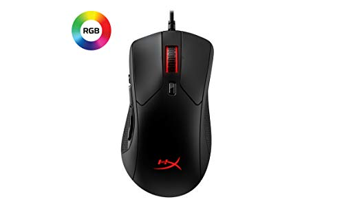 HyperX Pulsefire Raid – Gaming Mouse, 11 Programmable Buttons, RGB, Ergonomic Design, Comfortable Side Grips, Software…