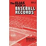 Elias Book of Baseball Records 2012 Edition, Seymour Siwoff, 0917050142