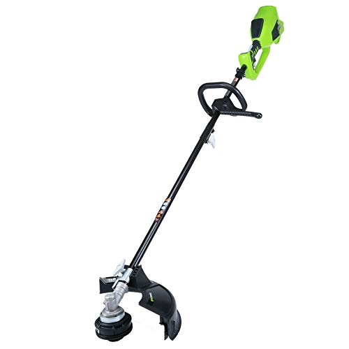Greenworks 14-Inch 40V Cordless String Trimmer Attachment Capable , Battery Not Included 2100202 Renewed