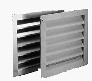 Air Vent 81104 12x12 Aluminum Louver Vent Louvered Vent