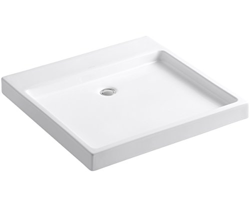 (Purist Wading Pool Above-Counter/Wall-Mount Bathroom Sink Finish: White)