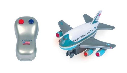 Daron Worldwide Trading Inc. Medium Air force One 1 Hand Radio Control Plane