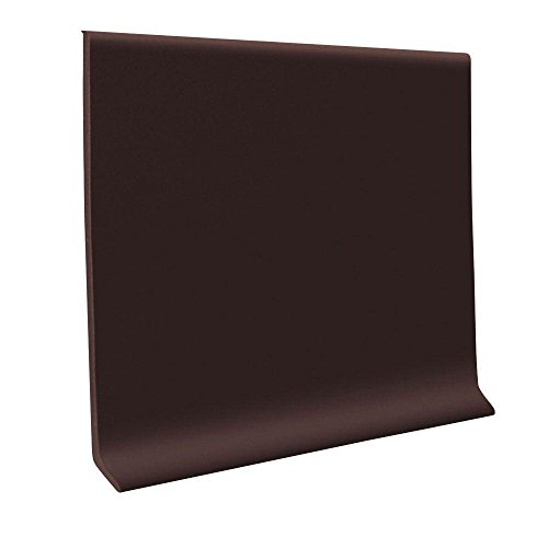 700 Brown 4 in. x 120 ft. x 1/8 in. Wall Cove Base Coil (Base Roppe Wall Rubber)
