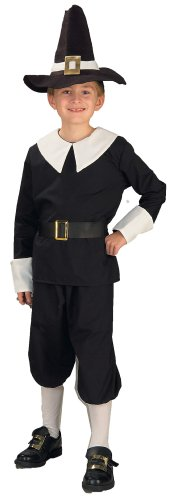 [Forum Novelties Pilgrim Boy Costume, Child's Large] (Boy Pilgrim Costumes)