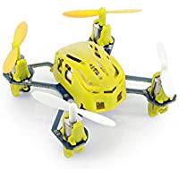 HUBSAN H111 Nano Q4 4-Channel 6 Axis Gyro Mini RC Quadcopter with 2.4Ghz Radio System Mode 2 RTF- Carton Case yellow