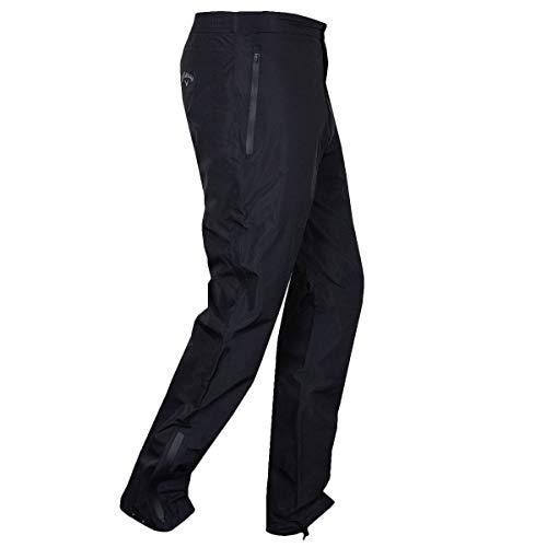 Callaway Golf 2018 Mens Weather Series Corporate Waterproof Golf Trousers Caviar Large x Leg 33