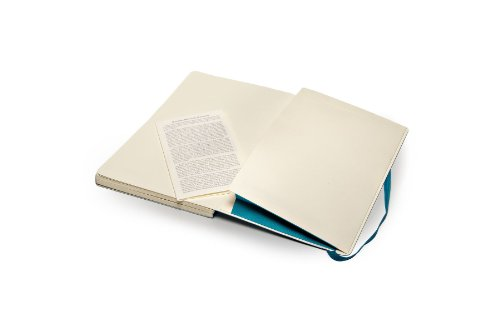Moleskine Classic Notebook Large (5 x 8.25''), Dotted Pages, Underwater Blue, Soft Cover Notebook for Writing, Sketching, Journals by Ingramcontent (Image #4)