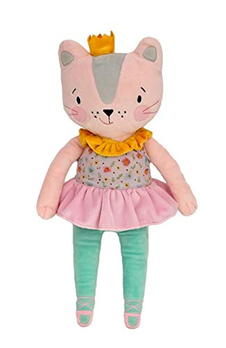 - My Petit Collection Katherina the Cat 16 inches Soft Plush Doll, Stuffed Animal for Babies and Kids