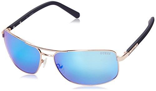 Guess Mens GU6835 Rectangular Sunglasses