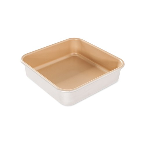 Natural Commercial Square Cake Pan, Yes