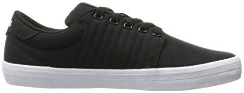 K-swiss Hombres Backspin Fashion Sneaker Negro / Blanco