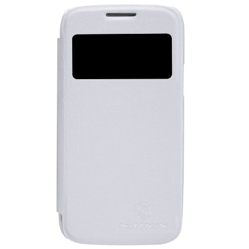 Nillkin Stylish Series Case Cover + Screen Protector + Dust Cleaning Film + Stylus Pen For Samsung I9190 GALAXY SIV Mini White NK80023