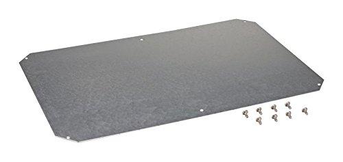 Fibox Enclosures MPS ARCA 8060 Galvanized Steel Mounting Plate for ARCAs; ARCA 608030 No-MP / ARCA 806030 No-MP, 0.08'' Height, 20.9'' Width, 28.7'' Length