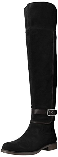 Knee Over the Crimson Black Women's Sarto Franco Boot tX8aqq