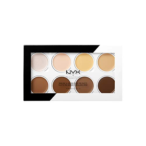 NYX HIGHLIGHT & CONTOUR CREAM PRO PALETTE