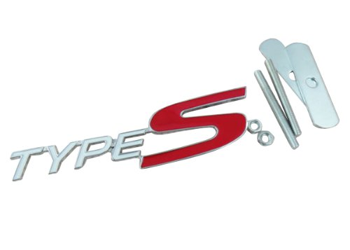(Car metal TYPES TYPE S for Mugen Acura Accord Civic Si Grille Grill Badge Emblem)