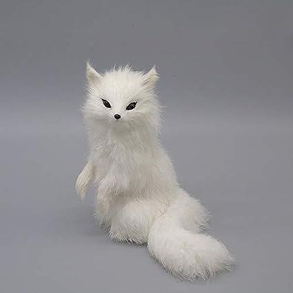 Zamtac The Simulation Animal White Fox Furnishing Articles