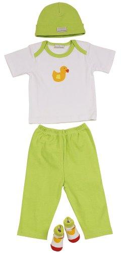 """Elegant Baby """"Quack Quack"""" Fashion Set, 0-6 Months."""
