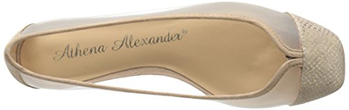 Alanna Alexander Flat Ballet Women's Gold Athena Snake EpPqvP