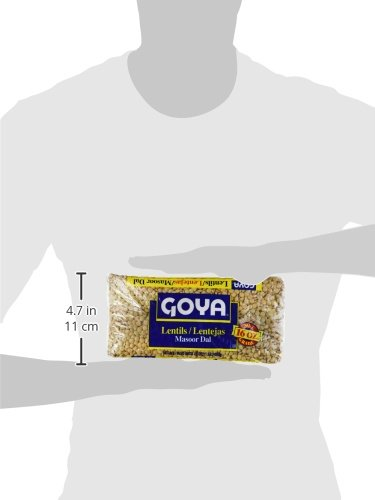 Amazon.com : Goya Lentils / Lentejas / Masoor Dal 16oz (Pack of 3) : Grocery & Gourmet Food