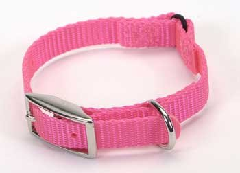 TopDawg Pet Supply Cat Safety Collar .375x10 Neon Pink