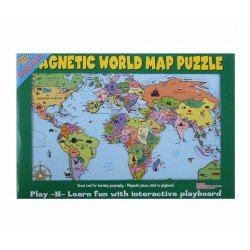 Magnetic world map puzzle with each country as a separate magnet magnetic world map puzzle with each country as a separate magnet rigid board 42 x gumiabroncs Choice Image