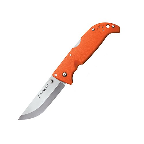 Cold Steel Finn Wolf Blaze Orange Blade One Hand Open Knife Folding Camping Knives by Cold Steel