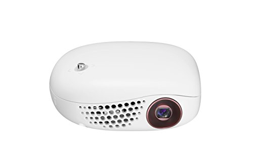 LG Electronics PV150G LED Minibeam Projector with Embedded Battery and Wireless Screen Share