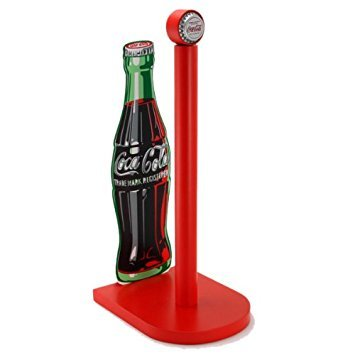 Coke Bottle Paper Towel Holder (Vintage Kitchen Collectibles)