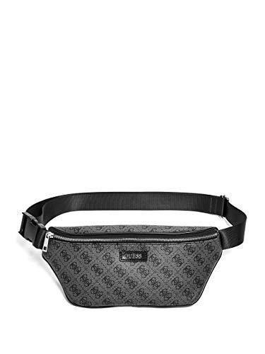 GUESS Men's Don Logo-Print Belt Bag