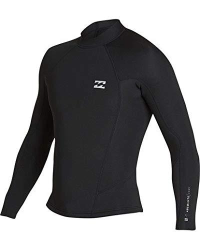 Billabong Men's 2Mm Absolute Comp Long Sleeve Jacket Black/Silver Medium