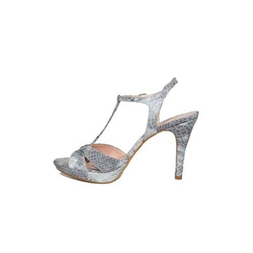 Rojo Gris Sandalias nbsp;serpiente Tacon Color Azul Fiesta Alto 5572s Tacón Elegante Plataforma 1 Zapatos Mujer Mayfran Oficina aUBx6p7qww