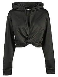 Alexander Wang Women S 4c282003c1001 Black Polyester Sweatshirt