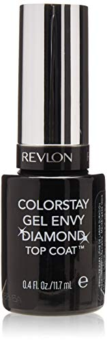 (Revlon ColorStay Gel Envy Longwear Nail Enamel, Diamond Top Coat)