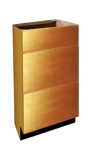- Shaker Panel Door Style 3 Drawer Vanity Base 12