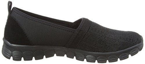 Black Schwarz Damen Ez 0 Escapade On Flex 3 Quick Slip Skechers Sneaker PTxwq1aa