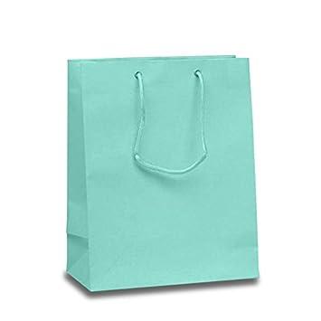 Amazon.com: Satén de color mate luz Aqua Euro bolsas de ...