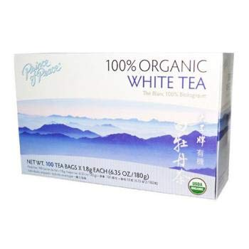 Prince of Peace Organic Premium White Tea 100 tea bags (Pack of 3) ()