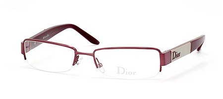 CHRISTIAN DIOR EYEGLASSES CD 3693 0KAL BURGUNDY/JADE