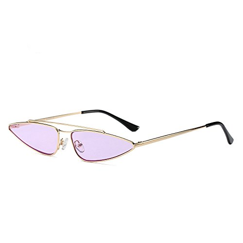 Fashion Small Purple UV Cat Glasses Eye Sunglasses Anti Retro Sun Vintage Unique Women 0SqUxSdw