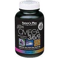 Nature's Plus Ultra Omega 3/6/9 0mg Softgels Pack Of 3 - 90 SOFTGELS
