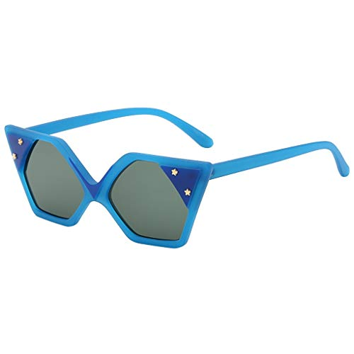 ♖Loosebee♜ Small Retro Vintage Square Cateye Sunglasses for Women ()