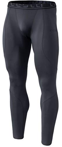 TSLA Men's Thermal Compression Pants, Athletic