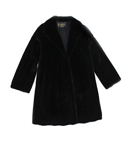 Female Mink Fur Coat - 513452 New Mary McFadden Natural Ranch Female Mink Fur Stroller Coat Jacket 16