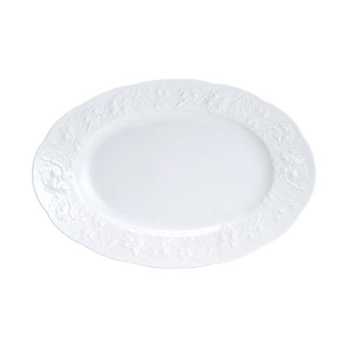 Prato Oval de Porcelana Rojemac Branco